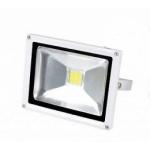 LED prožektorius 50W, šilta šviesa, baltas