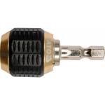 """Antgalių laikiklis magnetinis 1/4""""x 50 mm (YT-0464)"""