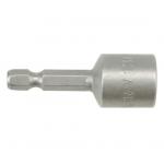 """Antgalis -galvutė magnetinė CR-V, 1/4"""" 13x48 mm (YT-1508)"""