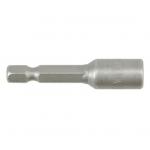 """Antgalis -galvutė magnetinė CR-V, 1/4"""" 6x48 mm (YT-1501)"""