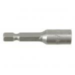 """Antgalis -galvutė magnetinė CR-V, 1/4"""" 7x48 mm (YT-1502)"""
