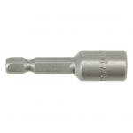 """Antgalis -galvutė magnetinė CR-V, 1/4"""" 8x48 mm (YT-1503)"""