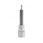 """Antgalis įpresuotas į galvutę 1/2"""", 100 mm ilgio, T20 (YT-0434)"""