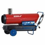 Dyzelinis šildytuvas su degimo produktų nuvedimu ir termostatu 30 kW Dedra DED9955TK