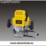 Elektrinė medžio freza 12mm, 220V/1680W DAWER (DW3612)
