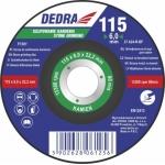 Šlifavimo diskas  akmeniui išgaubtas 125x6,0x22,3