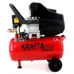 KraftDele KD400 Kompresorius 24L