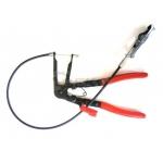 Replės aušinimo žarnų sąvaržų nuėmimui su trosu (G01651)