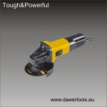 Kampinis šlifuoklis 115/125mm DAWER (DW329BC)
