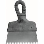 Nerūdijanti mentelė klijams, 150 mm, 8x8