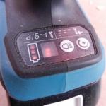 Akumuliatorinis 4 darbo režimų, smūginis suktuvas (BTP141) Makita DTP141RTE