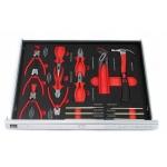 Įrankių spintelė BJC 7 stalčiai su 250 įrankių (M66600)