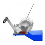 Pneumatinis / hidraulinis presas su manometru 30T MSW (6302)