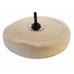 Poliravimo diskas su antgaliu Ø150 mm, 6mm (BW150)