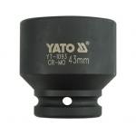 "Smūginė galvutė 3/4"", 43 mm (YT-1093)"