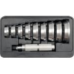 Tepalinių guolių ir paprastų guolių presavimo rinkinys 40-81 mm (YT-0638)