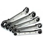 Terkšlinių dvipusių raktų rinkinys 6x8-19x22 mm,  5vnt. (1450V-WN)