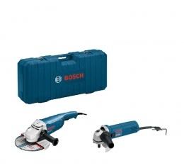 Bosch GWS 22-230 H + GWS 850 C + Lagaminas
