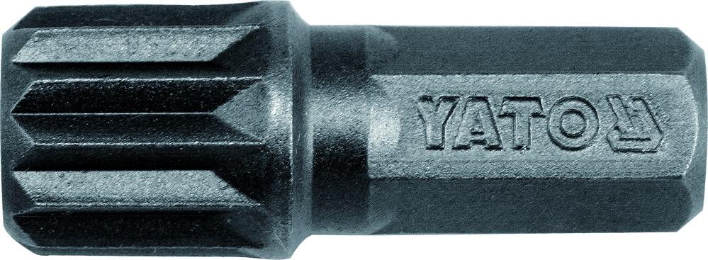 Antgalis smūginis 8X30 mm, SPLINE M12, 20 vnt. (YT-7933)