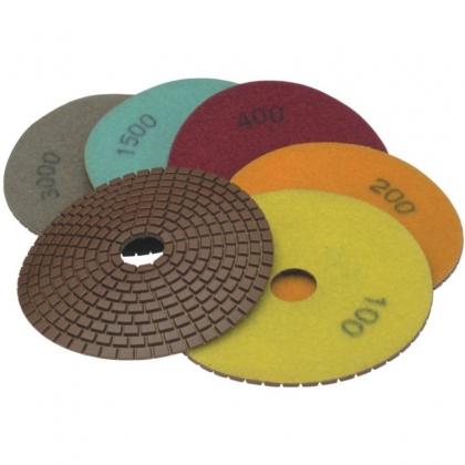 Diskas poliravimui deimantinis 125mm GR100 H12G0100