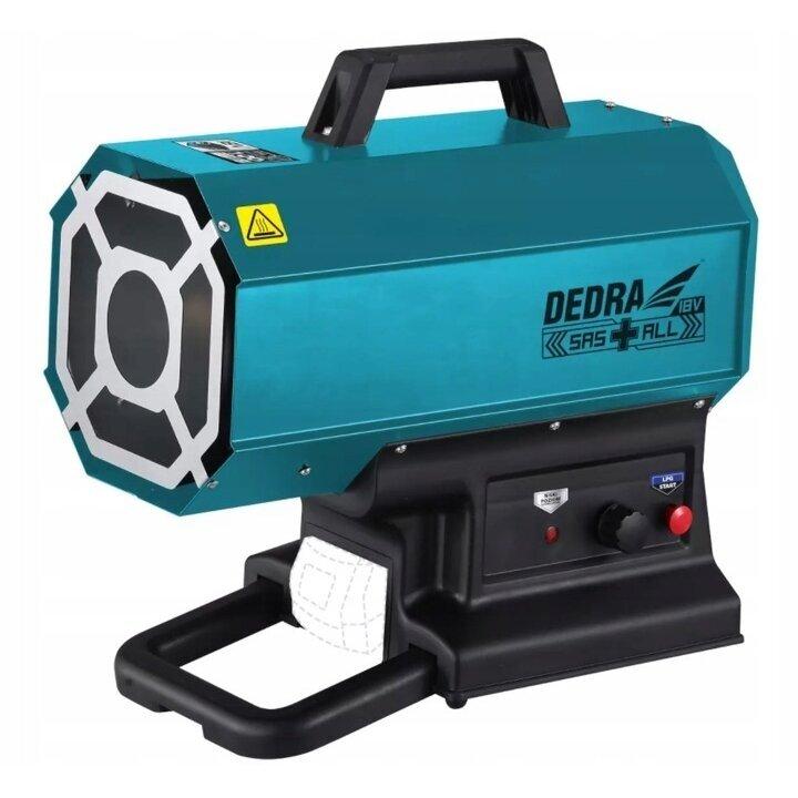 Akumuliatorinis dujinis šildytuvas 9-20kW 18V DEDRA SAS+ALL (DED7185H)