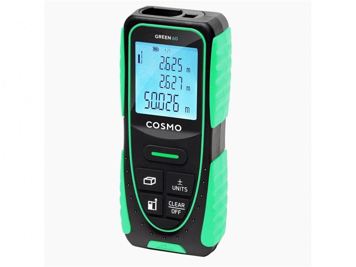 ADA COSMO 60 Green lazerinis atstumo matuoklis, matavimo diapazonas iki 60 m (A00629)