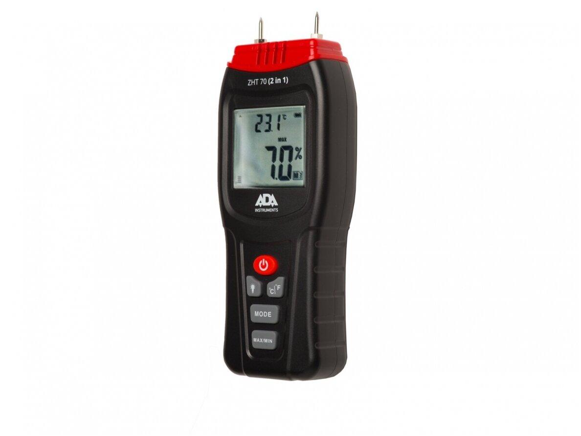 Ada Instruments ZHT 70 (2in1) kontaktinis drėgmės ir temperatūros matuoklis (A00518)
