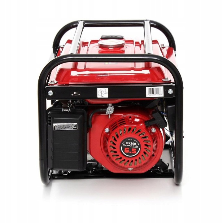 Benzininis vienfazis generatorius be ratukų 2500W 12/230V (KD116)
