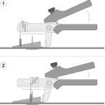 Replės plytelių lyginimui (M66061)