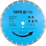 Deimantinis pjovimo diskas akmeniui 300x25.4 mm (YT-5963)