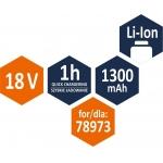 Akumuliatorius LI- ION 18V 1300MAH