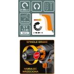 Akumuliatorinis suktukas - gręžtuvas NI-CD 12V