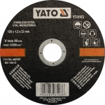Pjovimo diskas metalui | 125x1.2x22,23 (YT-6103)