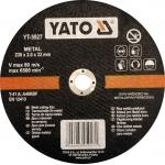 Pjovimo diskas metalo pjaustymui | 230x2,0x22 mm (YT-5927)