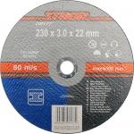 "Pjovimo diskas metalo pjaustymui 230 x 3,0 x 22mm ""Sthor"" (08177)"