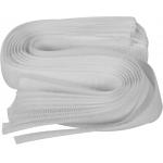 Dirželiai laidams su velcro | balti | 300 mm / 10 vnt. (73843)