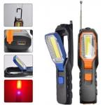 Darbo lempa akumuliatorinė | 5W COB LED | USB | 280+80 LM | su magnetiniu griebtuvu (YD-6302B)