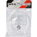 Plastiko suvirinimo juosta | polietilenas (PE) | 2.5X5 mm | 5х1m / 5 vnt. (YT-82304)