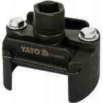 "Universalus alyvos filtro raktas | 12,5 mm (1/2"") | Ø 60 - 80 mm (YT-08235)"