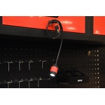 Lempa universali | įkraunama | su magnetu / lanksti | USB (YT-08516)