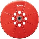 Šlifavimo padas / apvali šlifavimo galvutė YT-82350, YT-82340 šlifuokliui | 225 mm (YT-82353)