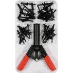 Kniediklis plastikinėms kniedėms su rinkiniu | 41 vnt. (YT-35970)