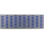 Galąstuvas deimantinis | perforuota plokštelė | 150 X 50 mm | P 600 (26130)