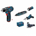 Akumuliatorinių įrankių rinkinys, Bosch 10,8 V-Li