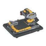 DeWALT 250 mm pjūklas plytelėms su papildomu stalu D24000+D240001