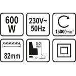Elektrinis oblius | 600 W (79416)
