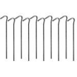 Metaliniai smeigtukai / kabliukai tento tvirtinimui | 10 vnt. (85185)