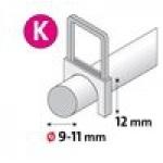 Tipas K/12, 350 vnt., baltos