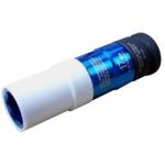 """Galvutė ilga smūginė plonasienė 1/2"""", ribota iki 115 Nm, 17 mm (7111)"""