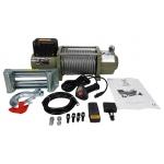 Akumuliatorinė traukimo gervė 16800 lbs/12V /plieninis lynas/ (M80821)